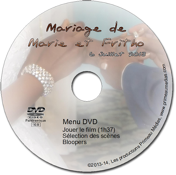 Wedding Marie et Fritho Label DVD